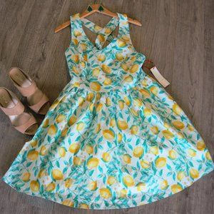 NWT Elle Lemon Dress